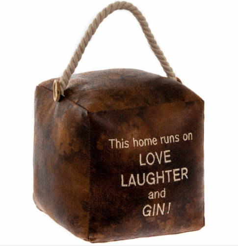 GIN DOORSTOP SQUARE